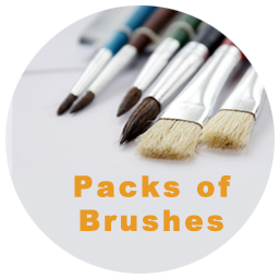 Packs of Brushes